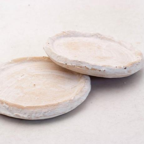 陶器製(2号ポット相当)多肉植物の欲しがる植木鉢 皿S-2枚組無破水- 7899