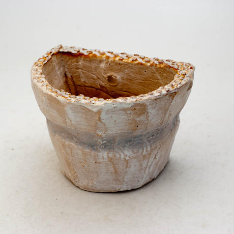 陶器製 多肉植物の欲しがる植木鉢 HPc-9423ブルー