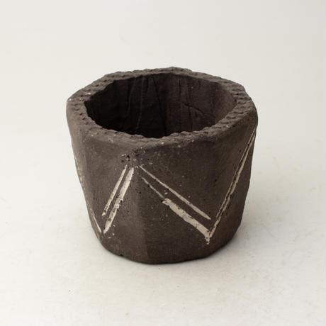 陶器製(2号ポット相当)植木鉢  KESc-ミカゲ-6630