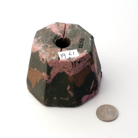陶器製(2号ポット相当)植木鉢  KESc-ミカゲ-3961