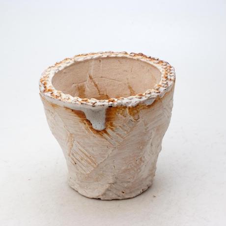 陶器製(2.5号ポット相当)多肉植物の欲しがる植木鉢 OPS-8202