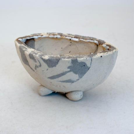 陶器製 多目的自由な植木鉢 CVc-ミカゲ-8830グレー