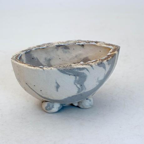 陶器製 多目的自由な植木鉢 CVc-ミカゲ-8831グレー