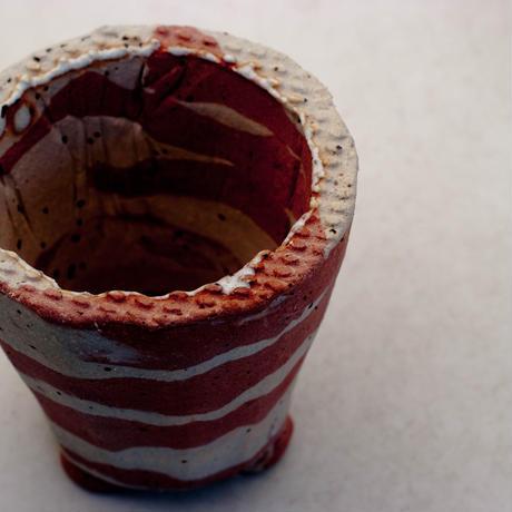 陶器製(2号ポット相当) 植木鉢 AAMcdミカゲ-8866ピンク