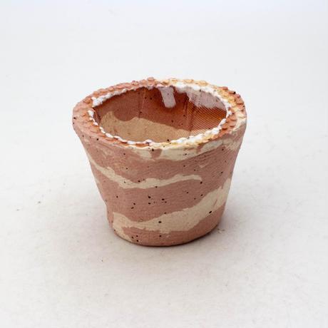 陶器製(1.5号ポット相当)多肉植物の欲しがる植木鉢 SMSSc-ミカゲ-8227