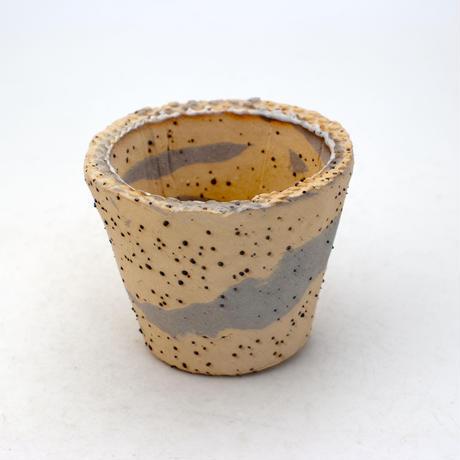 陶器製(2号ポット相当) 植木鉢  AASc-ミカゲ-9264