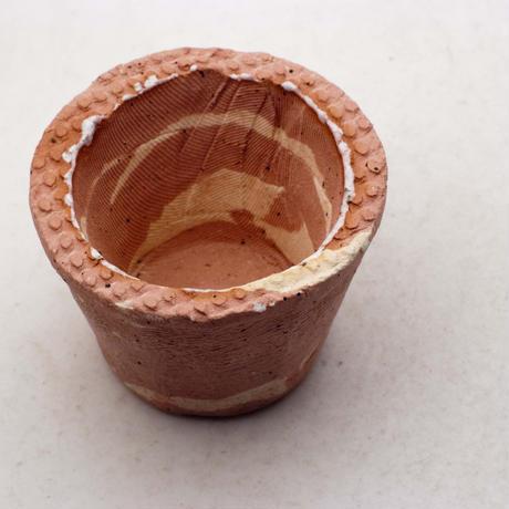 陶器製(1.5号ポット相当)多肉植物の欲しがる植木鉢 SMSSc-ミカゲ-8225