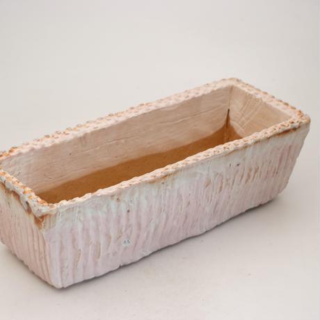 陶器製 多肉植物の欲しがる植木鉢 AEMc-9954 ピンク