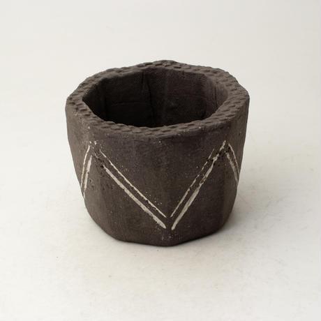 陶器製(2号ポット相当)植木鉢  KESc-ミカゲ-6631