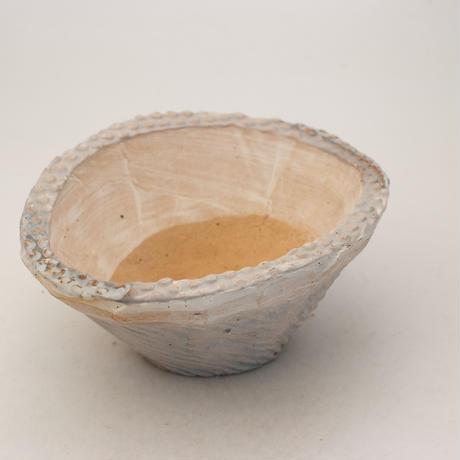 陶器製 多肉植物の欲しがる植木鉢 CCc 曲-9951 ブルー
