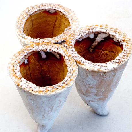 陶器製 多肉植物の欲しがる植木鉢  YH-7523