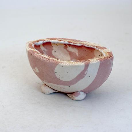 陶器製 多目的自由な植木鉢 CVc-ミカゲ-8834ピンク