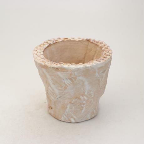 陶器製(2号ポット相当)多肉植物の欲しがる植木鉢 OPSS-9932