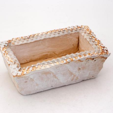 陶器製 多肉植物の欲しがる植木鉢 AESScd-7951ブルーグレイ