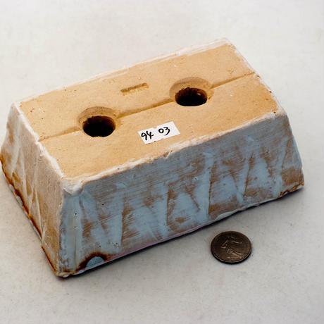 陶器製 多肉植物の欲しがる植木鉢 AES(Ⅰ)c-9403ピンク