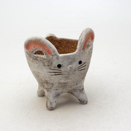 泰木窯 陶器製 うさぎ鉢  4252
