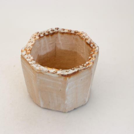 陶器製(2号ポット相当)多肉植物の欲しがる植木鉢 KES-9942