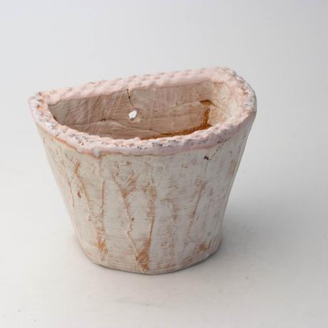 陶器製 多肉植物の欲しがる植木鉢 HPc-5051ピンク