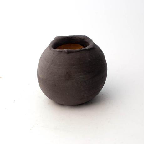 陶器製 多目的自由な植木鉢 TGc-5322-ブラック