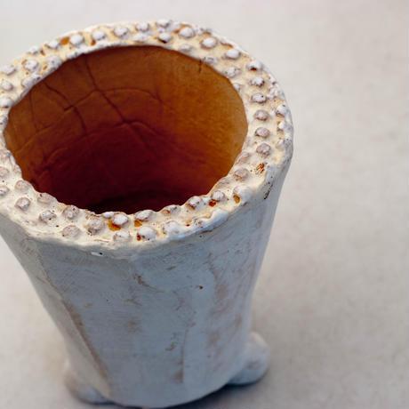陶器製(2号ポット相当)多肉植物の欲しがる植木鉢 AAMh-8872