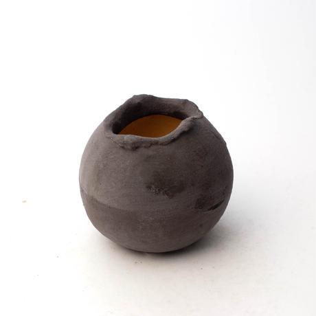 陶器製 多目的自由な植木鉢 TGc-5321-ブラック