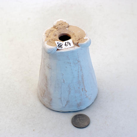 陶器製(2号ポット相当)多肉植物の欲しがる植木鉢 AAMh-8869