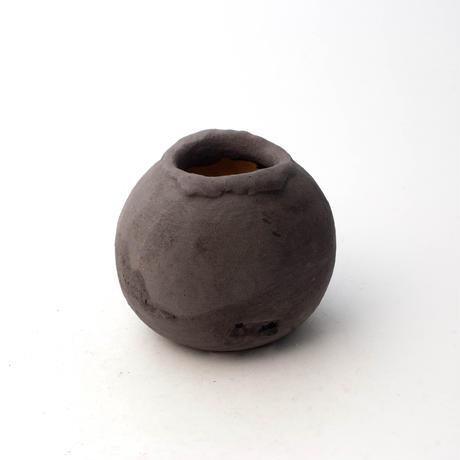 陶器製 多目的自由な植木鉢 TGc-5324-ブラック