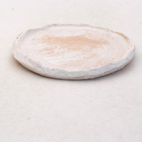 陶器製(3号ポット相当)多肉植物の欲しがる植木鉢 皿L-無破水-7905