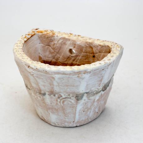 陶器製 多肉植物の欲しがる植木鉢 HPc-9420グリーン