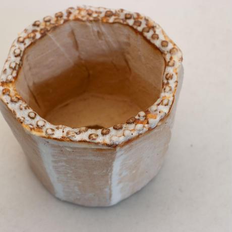 陶器製(2号ポット相当)多肉植物の欲しがる植木鉢 KES-9943