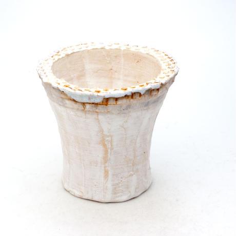 陶器製 多肉植物の欲しがる植木鉢 ICMc-7504ブルーグレイ