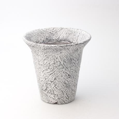 セキグチタカヒト 植木鉢 Plaster(S) Rimcylinder White 201111-9