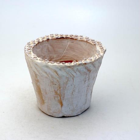 陶器製(2.5号ポット相当)多肉植物の欲しがる植木鉢 SMS-8918
