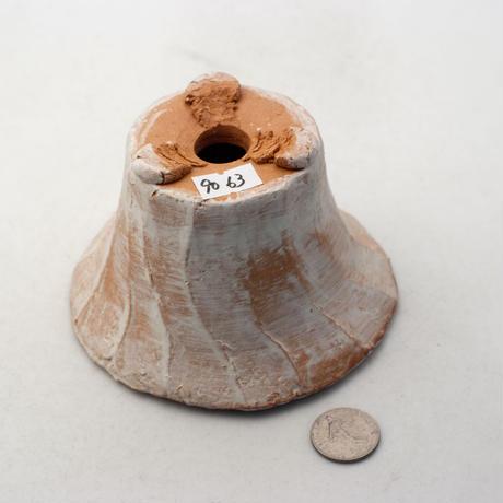 陶器製 多肉植物の欲しがる植木鉢 IBMd-9063