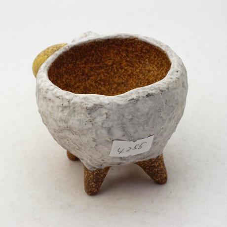 泰木窯 陶器製 ヒツジ鉢  4255