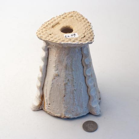 陶器製(2号ポット相当)多肉植物の欲しがる植木鉢 BGlux-6209