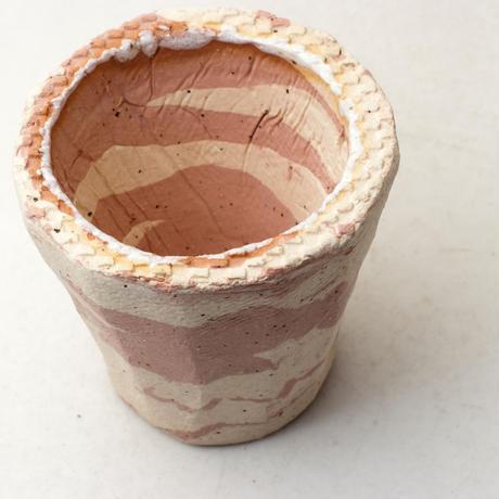 陶器製(2号ポット相当) 植木鉢 AAMcミカゲ-6625