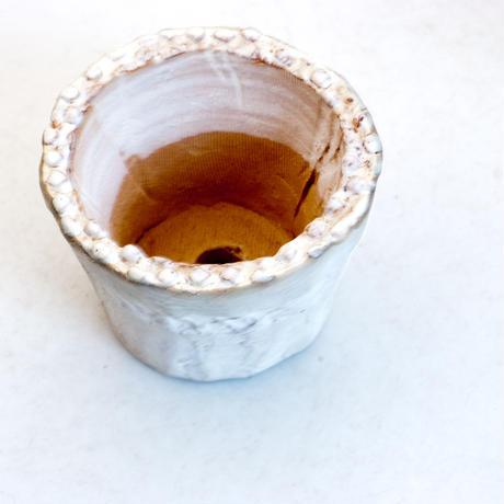 陶器製(1.5号ポット相当)多肉植物の欲しがる植木鉢 SMSSc-7230グリーン