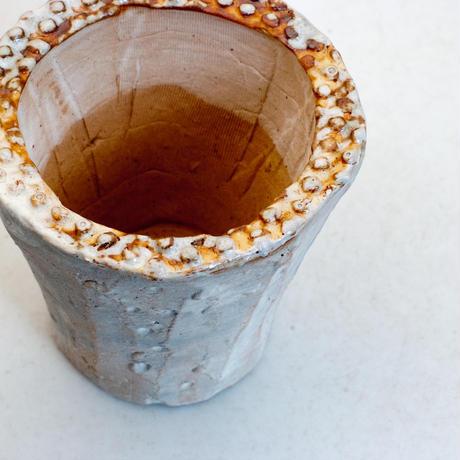 陶器製(2号ポット相当)多肉植物の欲しがる植木鉢 AAMc-7652ブルー