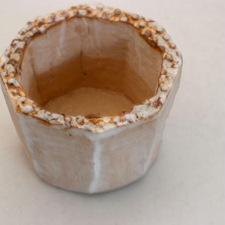 陶器製(2号ポット相当)多肉植物の欲しがる植木鉢 KES-9947