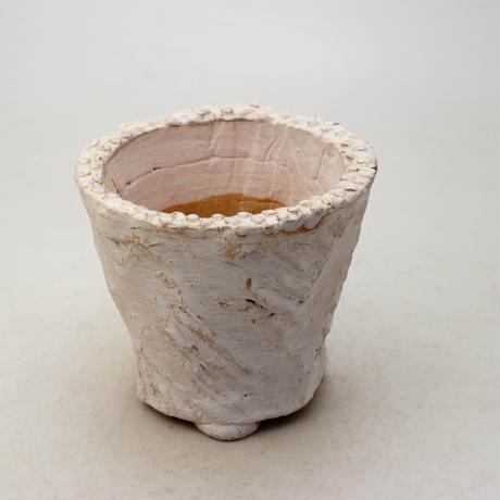 陶器製(2.5号ポット相当)多肉植物の欲しがる植木鉢 OPSd-8654