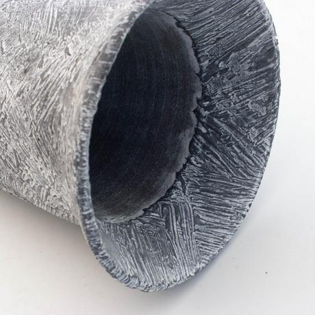 セキグチタカヒト 植木鉢 Plaster(S) Rimcylinder White 2092506