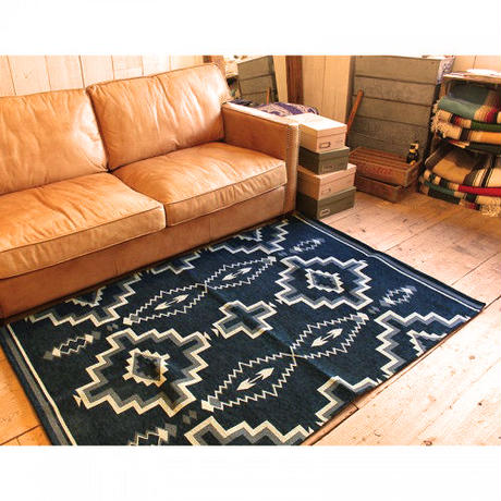NATIVE RUG NAVY