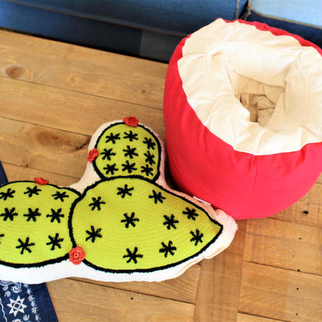 CACTUS & POT CUSHION SET -FAN-