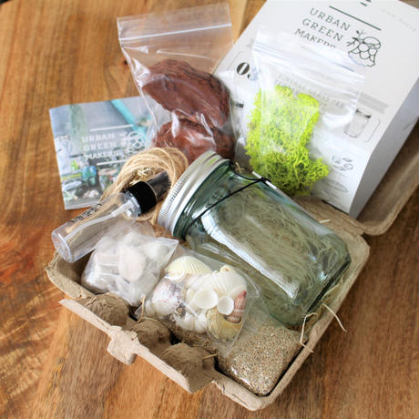 URBAN GREEN MAKERS TERRARIUM KIT #9
