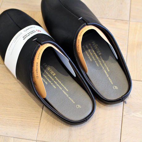 room's slipper BLACK
