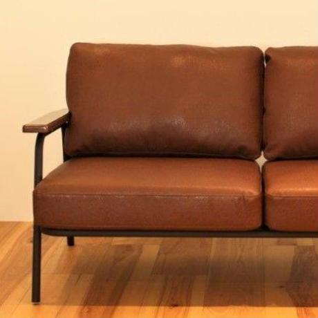 VOID LEATHER SOFA 2P