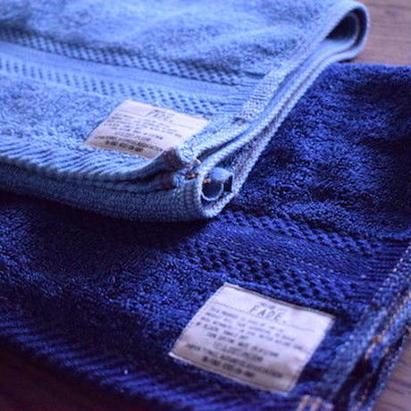 FADE DENIM -FACE TOWEL-