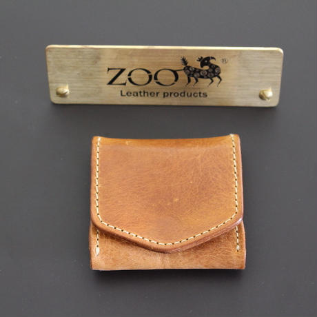 ZOO - COIN CASE - CAMEL
