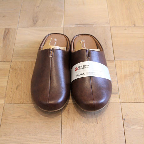 room's slippers DARKBROWN